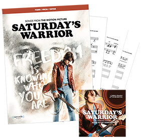 Saturday's Warrior - The Motion Picture Sheet Music + Sing-along - Now $24.99