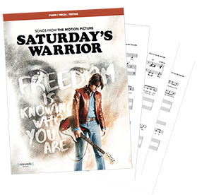 Saturday's Warrior - The Motion Picture Sheet Music- Now $19.99